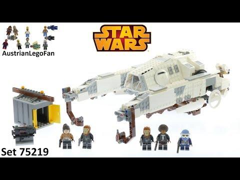 Vidéo LEGO Star Wars 75219 : Véhicule Impérial AT-Hauler