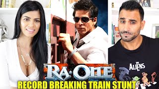 RA.ONE - Record Breaking Train Stunt REACTION!!!