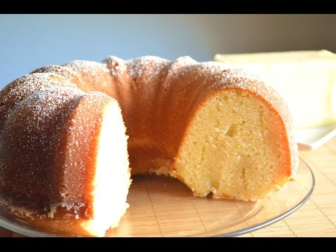 Video Butter Cake- Easy Butter Cake Recipe |Cooking With Carolyn