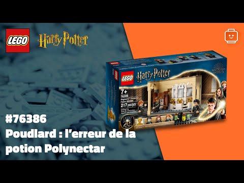 Vidéo LEGO Harry Potter 76386 : Poudlard : l'erreur de la potion Polynectar