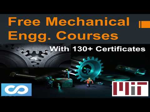 Mechanical Engineering Free Online Courses With Certificate ...