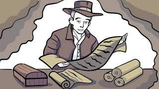 Дудлвидео для проекта занимающегося сохраниением древних рукописей.