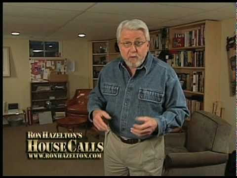 Ron  Hazleton talks about Basements