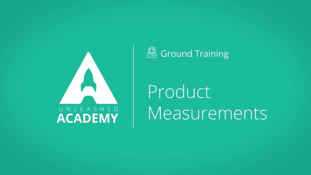 Product Measurements YouTube thumbnail image