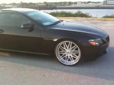 """BMW 6 Series 22"""" Asanti wheels, exhaust take off (645ci, M6 kit)"""