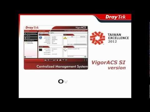 Video of VigorACS SI