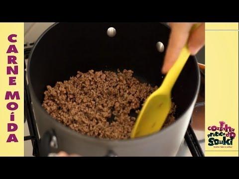 Carne Moída Simples