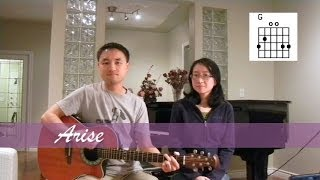 Arise - John Barnett (acoustic guitar cover) (with lyrics & chords) [SuzGidFung]