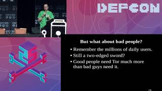 DEF CON 25 - Roger Dingledine - Next Generation Tor Onion Services