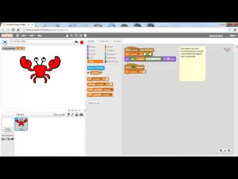 Scratch 2.0 Tutorial – Variables and Lists – 2