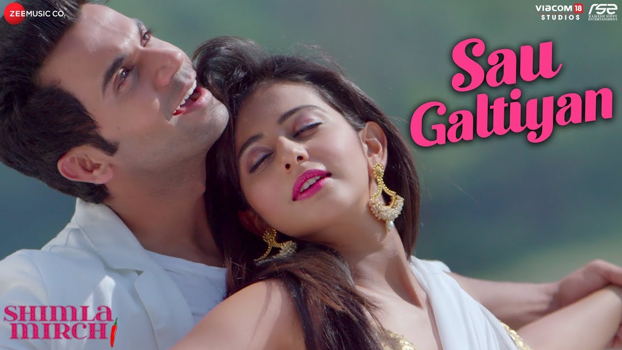 Sau Galtiyan Hindi lyrics