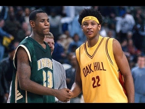 Lebron James highlights Highschool vs Oak Hill Academy
