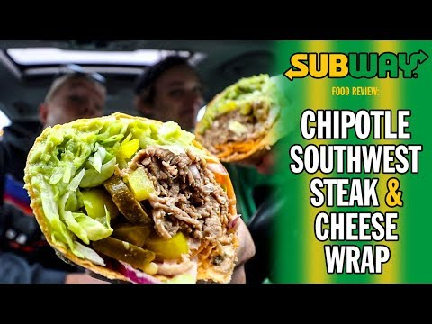 Subway's Chipotle Southwest Steak & Cheese Signature Wrap Food Review | Season 5, Episode 37