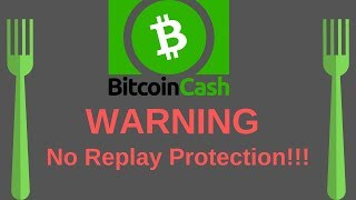 Hardfork Without Replay Protection Explained | Bitcoin Cash (11-15-18)