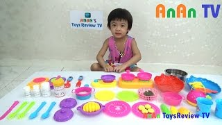 Kitchen Toy Playset For Kids ❤ Anan ToysReview TV ❤