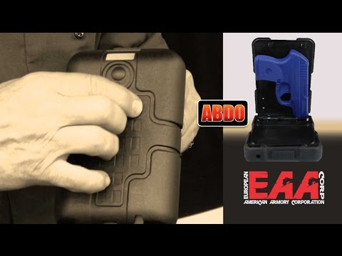 ABDO Concealed Carry Portable Pistol Safe