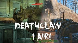 Fallout 4 unmarked deathclaw lair location