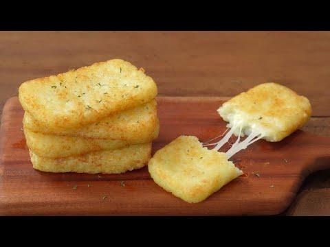 [SUB]How to make a crispy McDonald's Hash Brown :: Cheese Hash Brown :: Breakfast