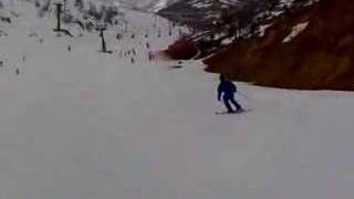 preview picture of video 'Shahar skiing in the Hermon'