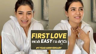 Samantha Says Thanks To Her Fans | 11 YEARS OF SAMANTHA JOURNEY IN FILM INDUSTRY |
