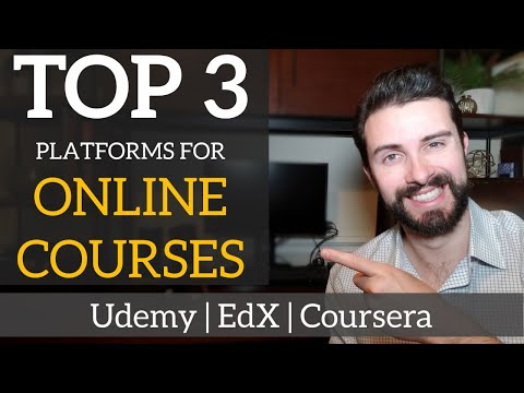 Top 3 Best Sites for Online Courses   Review of Udemy / EdX ...