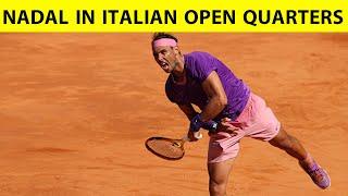 RAFAEL NADAL पहुंचे ITALIAN OPEN के QUATERFINAL में, हराया DENIS SHAPOVALOV को| Sports Tak