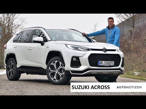 2021 Suzuki Across: Zwilling des Toyota RAV4 Plug-in Hybrid im Test, Fahrbericht, Review