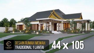 Video Mrs. Mila Traditional House 1 Floor Design - Jambi