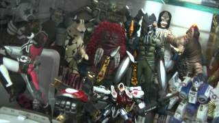 preview picture of video 'Star Wars, Macross, Gundam Posters, Hobby Kid, P3'
