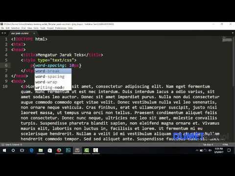 mp4 Coding Html Untuk Spasi, download Coding Html Untuk Spasi video klip Coding Html Untuk Spasi