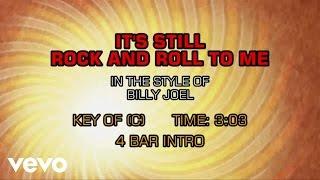 Billy Joel - It's Still Rock And Roll To Me (Karaoke)
