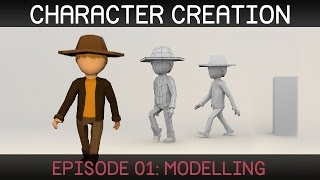 Blender – Character Modeling video tutorial