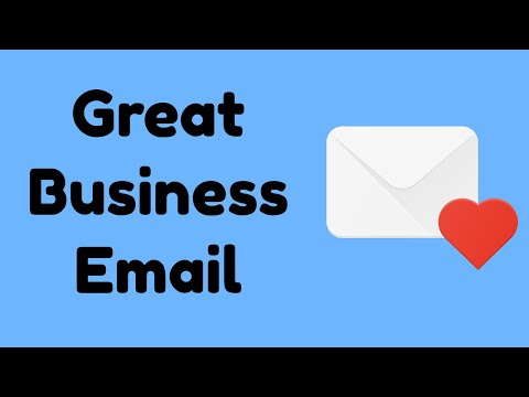 Writing business email