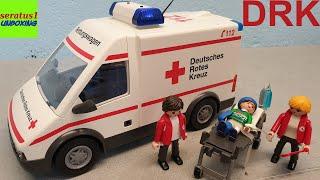 Playmobil DRK Rettungswagen 9535 auspacken seratus1 unboxing