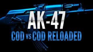 AK47 COD4 Vs MW2 Vs BLOPS Vs MW3 / COD Vs COD Reloaded 2