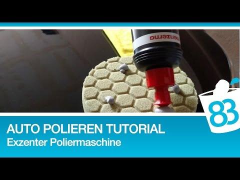 Auto polieren mit Exzenter Poliermaschine - Polieren für Anfänger - Polieren Tutorial Anleitung