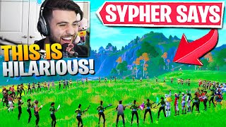 I Hosted A *HUGE* Simon Says Contest! (Sypher Says) - Fortnite Battle Royale