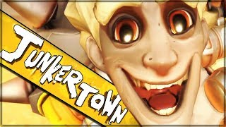 JUNKERTOWN REVEALED - SECRETS FOUND - BEST MAP/CINEMATIC YET - Overwatch!