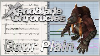 "New Transcription: ""Gaur Plains"" from Xenoblade Chronicles (2010)"
