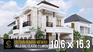 Video Mr. Toni Villa Bali Classic House 2 Floors Design - Batam