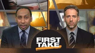 First Take debates if Lamar Jackson should switch to wide receiver | First Take | ESPN - dooclip.me
