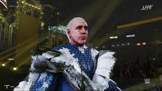 WWE 2K19: RIC FLAIR '08 WrestleMania 24 Entrance! (Deluxe Edition Robe)