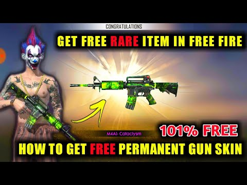 New Weapon Royale M4a1 Cataclysm Free Fire How To Get