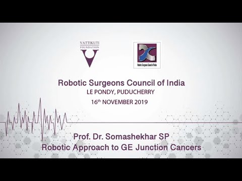 Robotic Approach to GE Junction Cancers