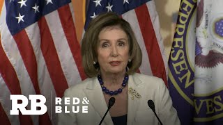 """""""The president gave us no choice"""":  Nancy Pelosi tells Congress to proceed with articles of impea…"""