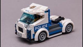 Free LEGO Building tutorial for City 60239 alternative TRUCK