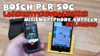 Bosch Laserentfernungsmesser PLR 50C + Measure&Go App