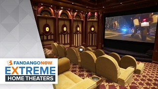 The Most Luxurious Home Theater! | FandangoNOW Extreme Home Theaters