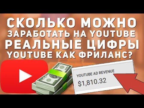 Сколько можно заработать на Youtube. Заработок на ютубе