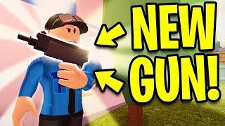 Jailbreak NEW UZI GUN!! NEW UPDATE PREVIEW!   Roblox Jailbreak New Update